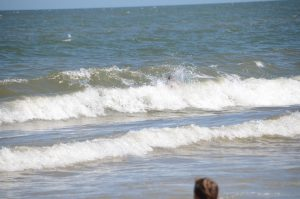 Immer mitten in die Welle rein!