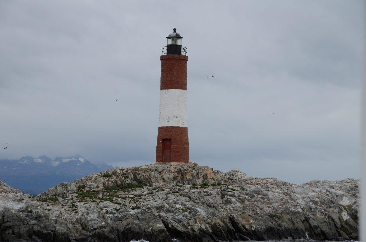 Der Leuchtturm von Ushuaia ist nur per Boot zu erreichen.