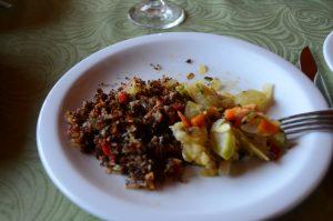 Typisch bei den Mapuche; Gerichte mit Quinoa