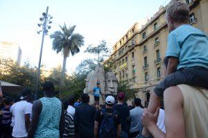 Buntes Treiben auf dem Plaza de Armes