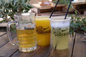 Die Cervecera Guayacán bietet nicht nur Bier sondern auch leckere alkoholfreihe Getränke.