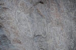 Der besondere Felsen in La Campana