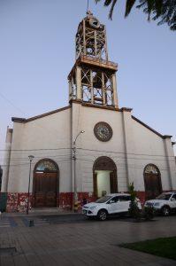 Die Kirche am Plaza in Vallenar