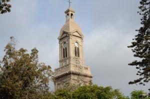 Die Kirche von La Sereña sehen wir schon von Weitem