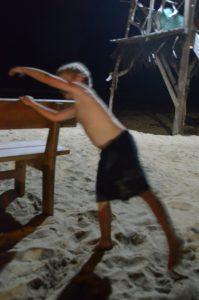 Toben in der Strandbar ist ausdrücklich erlaubt. Chillen sowieso!