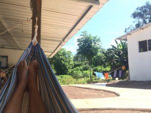 Zeit zu Entspannen auf der Terrasse