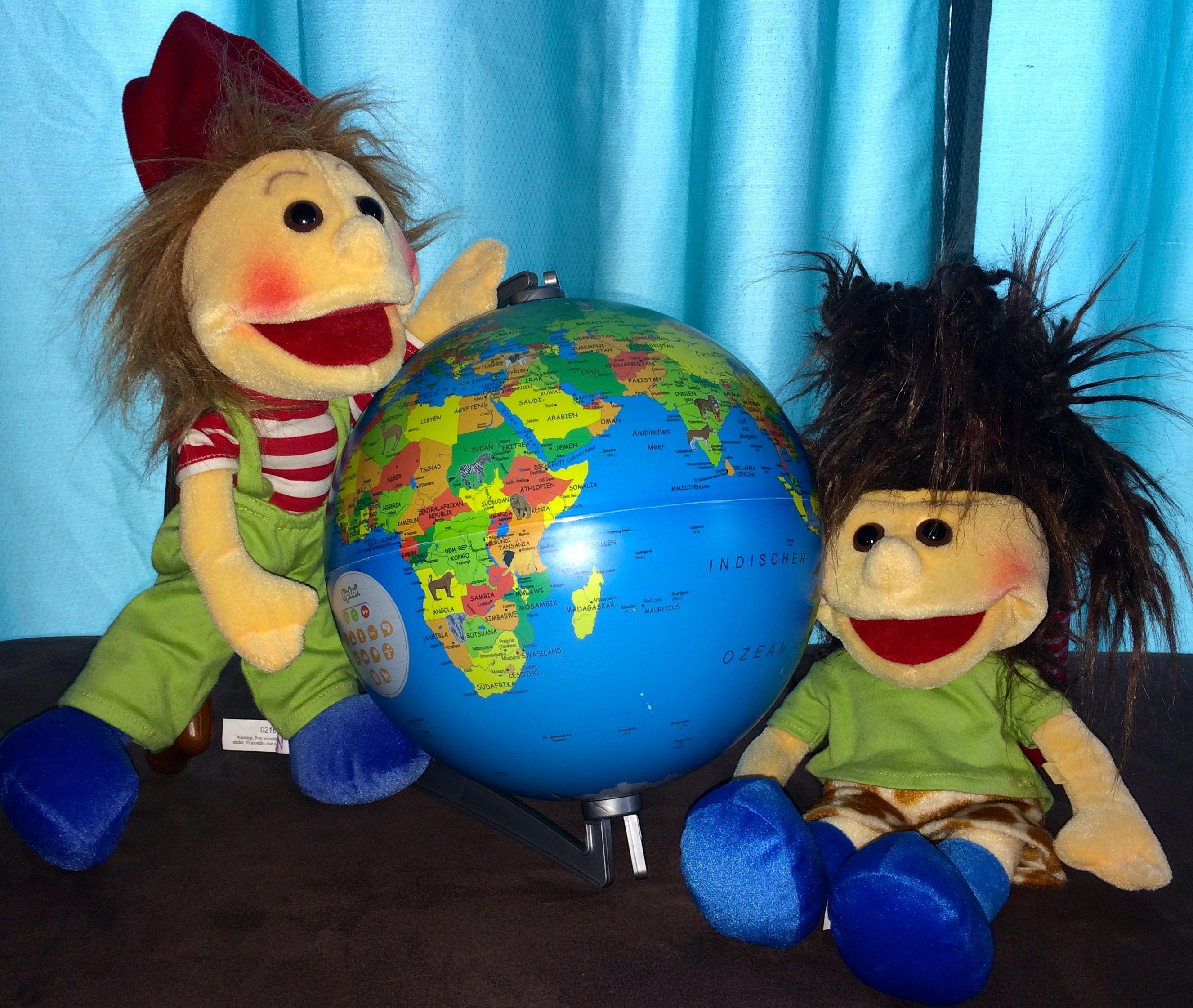 Mit Zipfel und Yosi die Welt entdecken
