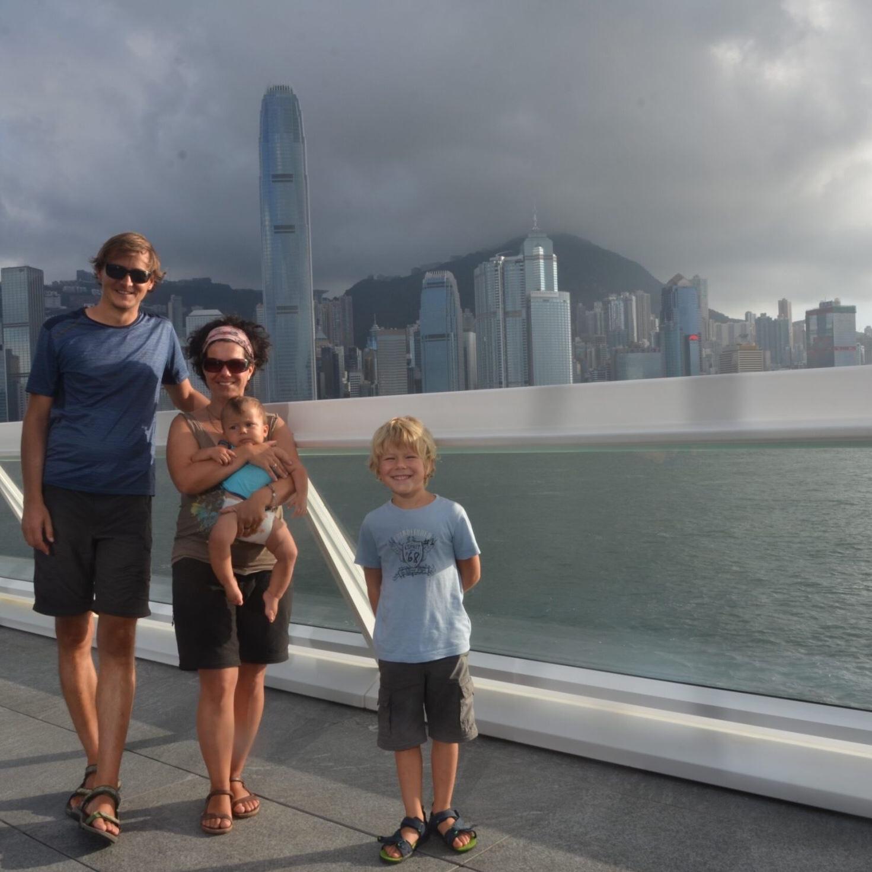 Mit Kleinkindern in Hongkong